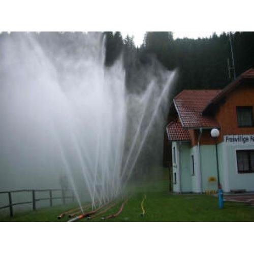 rideau d'eau incendie